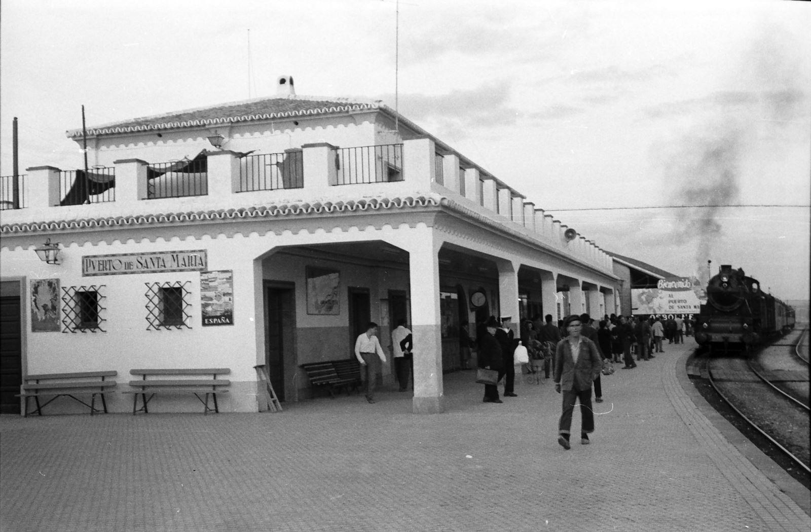 Foto: Archivo Histórico Ferroviario del Museo del Ferrocarril de Madrid (CABRERA PÉREZ-CABALLERO, JUAN BAUTISTA).