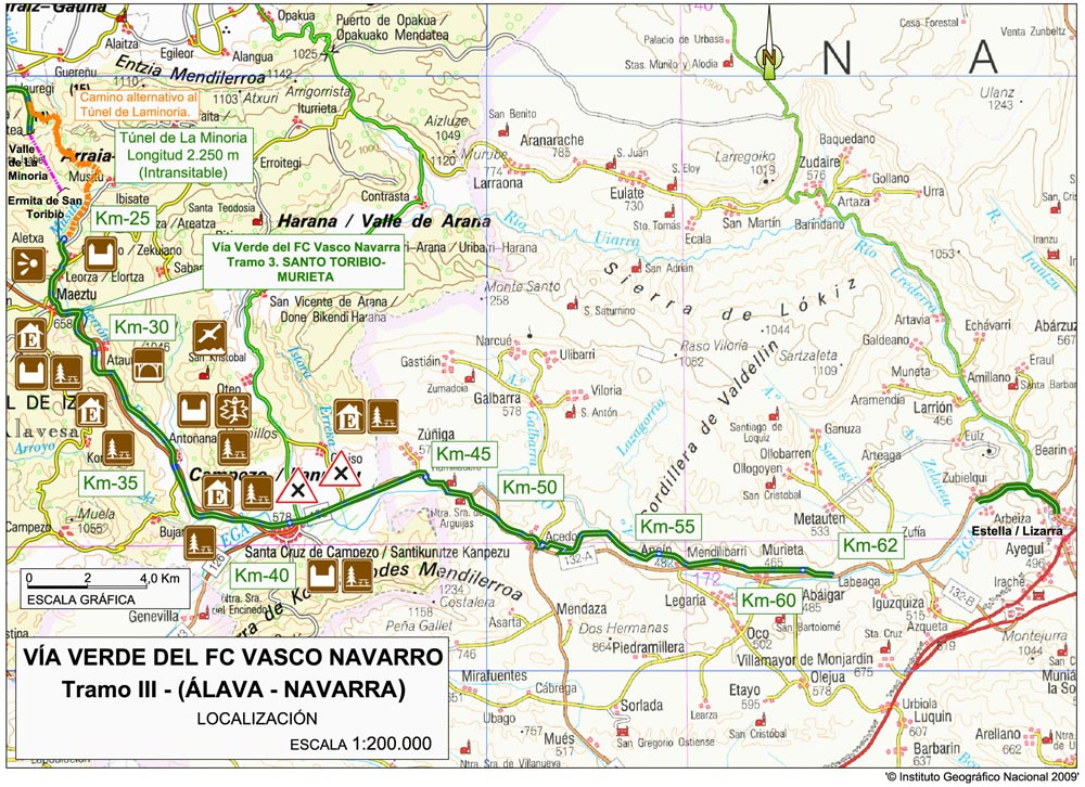 VascoNavarro Railway Greenway Spanish Green Ways Itineraries